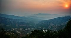 Beautiful Serene Sunrise in Dhulikhel, Nepal (CamelKW) Tags: nepal beautiful sunrise serene 2016 dhulikhel everestpanoram