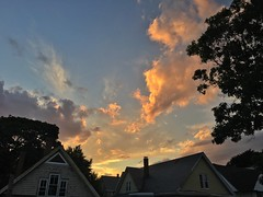 Somerville Sunset ((Jessica)) Tags: sunset boston clouds newengland somerville pw