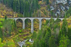 DSC04517 Landwasser Viaduct Filisur (Tery14) Tags: switzerland filisur train travel bridge viaduct landwasser unescoworldheritage