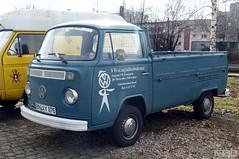 VW T2 Pritschenwagen (TIMRAAB227) Tags: vw transporter volkswagen t2 pritschenwagen pickup car auto coche bonn