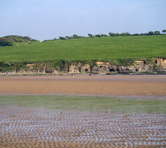 _1280709 (gwen paskins) Tags: ireland sea sky green rust silage wexford spade duncannon