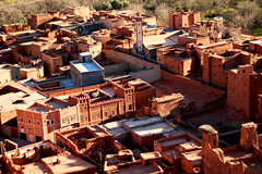 Town and medina (abrinsky) Tags: atlasmountains morocco bontharar mortrip07