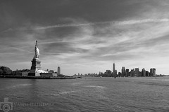 Liberty (Vamsi Illindala) Tags: nyc newyorkcity blackandwhite downtown manhattan l statueofliberty bigapple luxury libertyisland ladyliberty digirebel vamsi canonef24105mmf40lisusm illindala canon5dmkiii canoneos5dmarkiii vamsikrishnahemanthillindala 5mdkiii