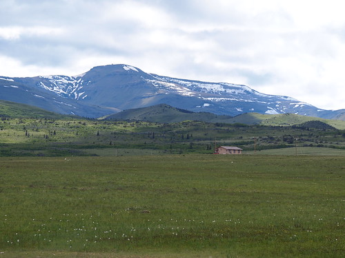 Glacier National Park near Hear Butte, Montana