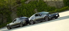 Boxer and Dorito (Broken Forge Photography) Tags: cars carphotography subaru brz frs gt86 mazda rx8 boxer rotary