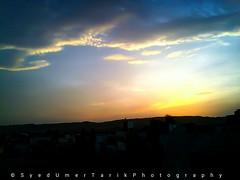 Dusk. (Umer Tarik) Tags: city travel pakistan light sunset sky sun love exposure explore moment capture ph karachi traveler photogrid mykarachi travelbeautifulpakistan