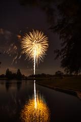 DSC_3990 (fellajr) Tags: family water night golf fun evening fireworks 4th july course hazzard deerpark 2016