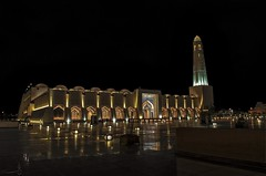 Eid al Fitr 2016 Qatar (zai Qtr) Tags: light sky reflection building night holidays outdoor muslim islam mosque ramadan doha qatar zaiqtr eidalfitr2016