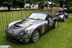 Terry Grants TVR Tamora & Legends Racer (cerbera15) Tags: festival speed grant terry legends fos goodwood tvr racer tamora 2016 2015