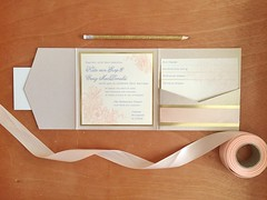 Kate & Craig Open (dulynotedstationery) Tags: wedding stationery invite invitations