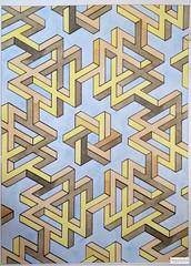 20160204 (regolo54) Tags: triangle pattern handmade geometry symmetry handpaint escher isometric impossible mcescher penrosetriangle artempire triangleimpossible artistsharing regolo54 oscarreutersward