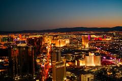 City of light - Las Vegas (photoggigraphy) Tags: city light usa building skyline architecture night landscape licht lasvegas nacht outdoor stadt architektur dmmerung gebude achitecture nightfall vogelperspektive luftaufnahme archite aeration landscharft