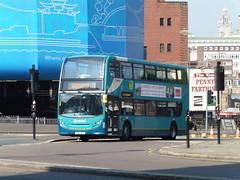 Arriva 4568 - DK64 BVC (North West Transport Photos) Tags: bus liverpool limestreet enviro arriva adl 4568 stjohnslane e400 alexanderdennis enviro400 e40d arrivamerseyside arrivanorthwest dk64bvc