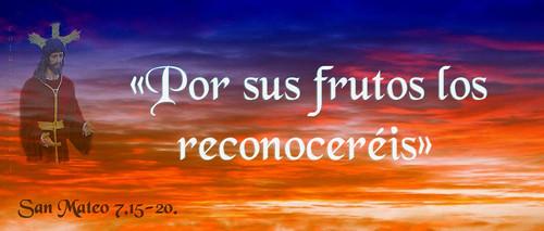 «Por sus frutos los reconoceréis».(Dedicado  al P.Cotallo)