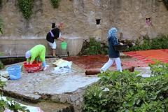 Chefchaouen. Lavaderos pblicos (lameato feliz) Tags: chefchaouen marruecos lavadero