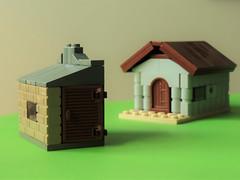 Little village (joaqunechavarra) Tags: buildings lego medieval micro vignette moc