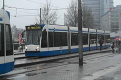 GVB 2006 (Siemens Combino) ([Publicer Transport] Ricardo Diepgrond) Tags: 2 amsterdam siemens tram halte gvb lijn combino bedrijf gemeentelijk vervoers