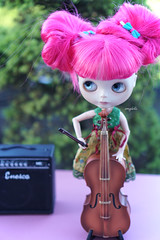 266/366 and Blythe A Day 17 June 2016 - Rock me Amadeus