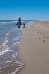 Best friends (xgrager) Tags: catalonia summer beach deltadelebre pet kibou dog xe2 platjadelamarquesa fujifilmx esfujifilmx jefa