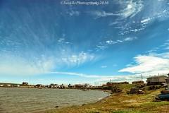 AAA_0907s (savillent) Tags: ocean blue summer sky canada beach water june clouds landscape nikon northwest north arctic solstice polarized climate territories noctilucent 2016 2470 tuktoyaktuk