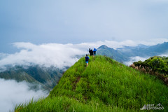 Above the clouds. (Bert Esposado) Tags: travel mountain mountains nature scenery asia outdoor hiking philippines adventure mountaineering iloilo