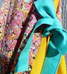 dress fizz bubbles juicy fruits detail (paysmage) Tags: pink summer girl fashion yellow fruit digital print fun design spring rainbow pod colorful pattern child dress designer sewing decoration bubbles fresh collection fabric cotton bow ultra multicolor bubbly seamless fizzy fabrics designers fizz garment frutti printondemand spoonflower paysmage