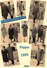 Kleppermode 1959 (hpdyko) Tags: fashion raincoat 1959 klepper regenmantel kleppermantel kleppermode