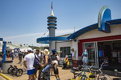 Police Station on the Pier (etzel42) Tags: ocean california santa ca pier santamonica socal monica boardwalk westcoast