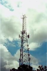 Tower (Stephen Hilton) Tags: canonetgiiiql17 ektar100