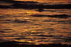 sun's last kiss (christiaan_25) Tags: park sunset summer orange lake reflection nature water colors yellow landscape outside outdoors gold evening waves glow outdoor pov michigan perspective stjoseph lakemichigan shore lakeshore tiscornia