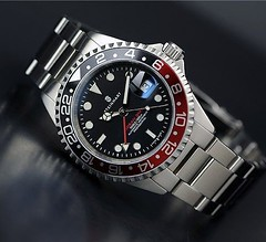 STEINHART OCEAN ONE GMT Professional Diver's WATCH (WAI's Watch Museum) Tags: ocean one gmt steinhart