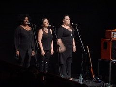 RAH, 15/06/16: John Grant's Backing Singers (Diamond Geyser) Tags: show musician music june royalalberthall live gig band onstage rah backingsingers