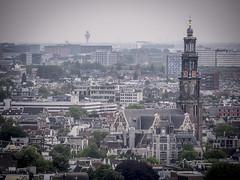 Amsterdam 2016: From tower to tower (mdiepraam) Tags: amsterdam 2016 adamtower adamtoren adamlookout city cityscape westertoren panorama schiphol tower skyline