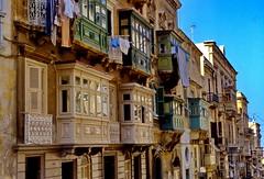 Malta Valetta Balconies (gerard eder) Tags: world travel europa europe outdoor balcony malta viajes reise balkone balcones valetta lavaletta