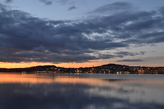 good night Dundee (cube core) Tags: tay dundee river sunset evening city water sky line
