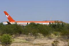 ex-Volar 757 at Pinal Air Park (atg3v) Tags: arizona usa tucson scrapyard boeing boneyard 757 airliner ltu marana pinal volar 752 pinalairpark lte mzj