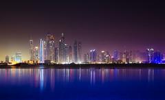 Dubai Marina Skyline (nico.schmitt) Tags: pool skyline dubai infinity palm jumeirah