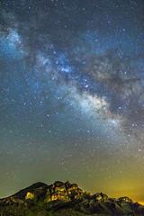 Milky Way Over the Saddlebag (Carl Cohen_Pics) Tags: milkyway mountain superstitionmountain peraltatrail tontonationalforest night nature nightsky nightphotography canon sky stars shootingstar arizona astrophotography sagittarius pinalcounty