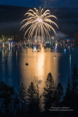 Golden Light (Darvin Atkeson) Tags: california light lake snow mountains reflection water rain forest day glow fireworks bass nevada 4th july sierra pines shore independence 4thofjuly basslake oakhurst elnino 2016 darvin atkeson darv lynneal yosemitelandscapescom