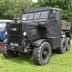 The Mighty THOR (ManOfYorkshire) Tags: thor scammel 1954 watford british lorry truck 6x4 allwheeldrive explorer leyland aec osj698 display wiston steam rally sussex black