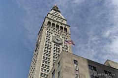 Met Life Clock Tower (Joel Raskin) Tags: nyc newyorkcity architecture manhattan clocktower metlife usflag metlifebuilding madisonsquare