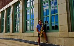 (Mark ~ JerseyStyle Photography) Tags: newjersey asburypark saxaphone sax muscian 2016 markkrajnak jerseystylephotography july2016 zacksandler