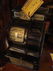 "CASH REGISTER CHILD'S BANK. • <a style=""font-size:0.8em;"" href=""http://www.flickr.com/photos/51721355@N02/8721396808/"" target=""_blank"">View on Flickr</a>"