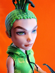 Scaris Deuce Gorgon (nonaptime) Tags: ooak swimclass repaint customdoll scaris lagoonablue monsterhigh deucegorgon
