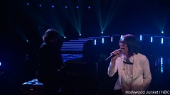 Michelle Chamuel True Colors THE VOICE  Live Playoff Video (HOLLYWOOD JUNKET) Tags: music tv video performance entertainment singer reality cyndilauper truecolors thevoice michellechamuel nbcthevoice teamusher liveplayoff s04e13a season4episode13a