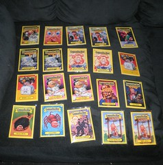 garbage pail kid cards for trade (mikaplexus) Tags: favorite kids toy cards toys garbage sticker stickers collection flashback card collectible limited s3 rare garbagepailkids collectibles pail gpk ireallylike i3stickers