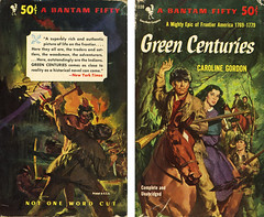 Bantam Books F1130 - Caroline Gordon - Green Centuries (with back) (swallace99) Tags: fiction vintage paperback historical bantam