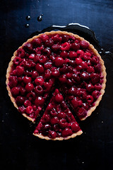 raspberry tart (ashley_tarr) Tags: food dessert berry raspberry pastries tart raspberrytart
