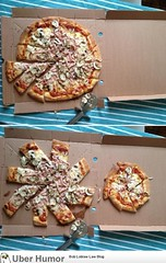 Pizza sharing..! (dad+6yo son) (4577246c1e1b7b419e88cca8ab7d2749) Tags: fun funny time native top lol humor waste stupidity uber stuppid