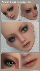 Ashton Drake - Delilah Noir - Normal Skin (tan) (Invie Aesthetics) Tags: 14 vinyl bjd commission tanned msd faceup delilahnoir